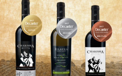Gold for Charisma Blatina at DWWA