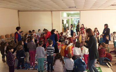 Monte in kindergartens