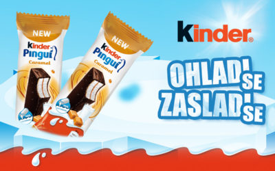NEW! Kinder Pingui Caramel